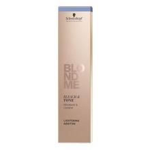 Decolorant si Toner Rose pentru Parul Blond Schwarzkopf Professional, BlondMe Toning Cream, 60 ml