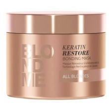 Masca de Par Reparatoare cu Keratina Schwarzkopf Professional, BlondMe Keratin Restore, 150 ml