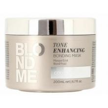 Masca pentru Parul Blond Platinat Schwarzkopf Professional, BlondMe Tone Enhancing, 200 ml