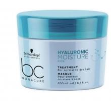 Masca de Par Hidratanta Schwarzkopf Professional, Bonacure Hyaluronic Moisture Kick, 200 ml