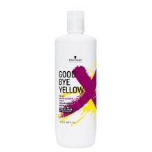 Sampon pentru Neutralizarea Tonurilor de Galben pentru Par Vopsit Schwarzkopf Professional Good Bye Yellow, 1000 ml