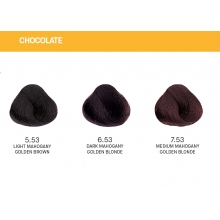 Vopsea de Par Chocolate  Yellow Permanenta cu Amoniac 100ml