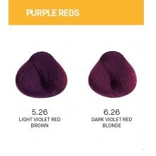 Vopsea de Par Purple Reds Yellow Permanenta cu Amoniac 100ml
