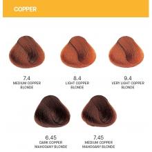 Vopsea de Par Copper Yellow Permanenta cu Amoniac 100ml
