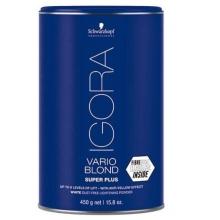 Decolorant Pudra pentru Par Schwarzkopf Professional Igora Royal Vario Blond Super Plus, 450g