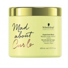 Masca Nutritiva pentru Parul Cret Schwarzkopf Professional Mad About Curls Superfood, 650ml