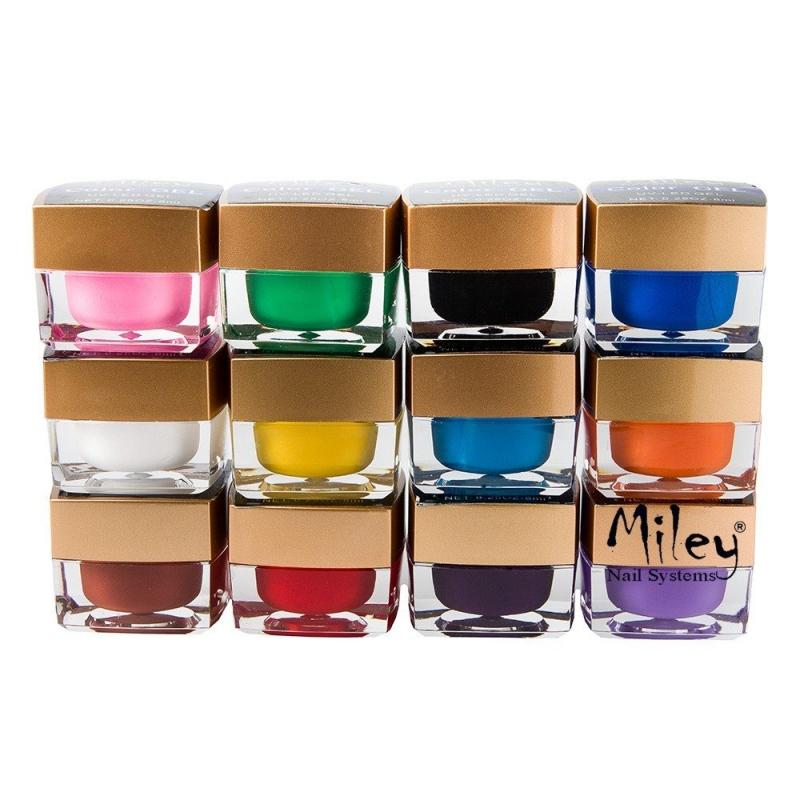 Gel UV Color Miley - Set 12 Bucati