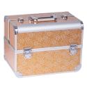 Geanta Cosmetice Mare 6283AC-GD Gold cu Cristale