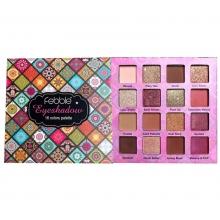 Paleta de Farduri Feddle Eyeshadow Palette, 16 Culori