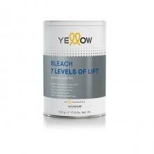 Decolorant Pudra cu Deschidere de 7 Tonuri Yellow, 500g