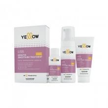 Set Tratament cu Keratina pentru Par Yellow Liss Smoothing