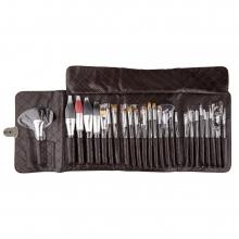 Pensule Make-Up Set 26 pnhq 1049, cu husa maro