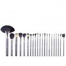 Set Pensule Make-Up, Megaga, cu Husa Neagra, 21 buc