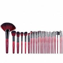 Set Pensule Make-Up Megaga cu Husa Neagra, 26 de pensule