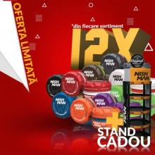 Pachet Promo NISHMAN-Ceara de Par 12 buc+Stand Cadou