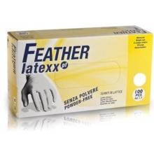 Manusi Albe Profesionale Latex S Feather