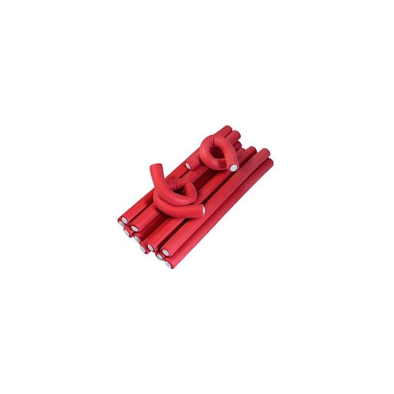 Bigudiuri flexibile 24,5 cm - Set 10 Buc