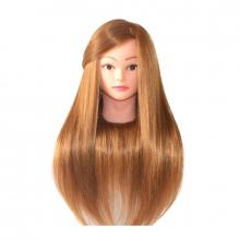 Set frizerie complet cu cap practica 100 % natural kit coafor royal