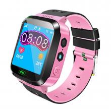Ceas Smartwatch Roz pentru Copii Loomax cu Diferite Functii