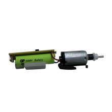 Acumulator Original + Panou Electric Moser Genio