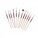Set 12 Pensule Acryl si Gel UV