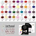 Geluri colorate Lila Rossa - 36buc