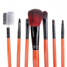 Pensule make-up din par natural Megaga set 7 bucati Maro