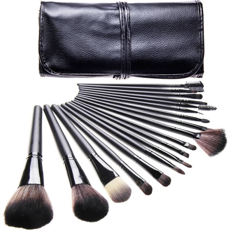 Pensule make-up set 18 bucati