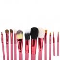 Pensule make-up Lila Rossa set 12 Roz