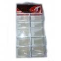 Tipsuri Unghii Transparente - 100 Buc