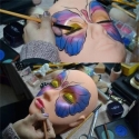 Cap practica pentru gene false/make-up