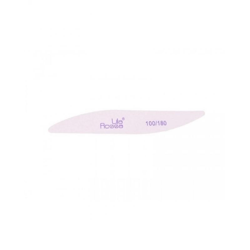 Pila unghii oval Lila Rossa-alba