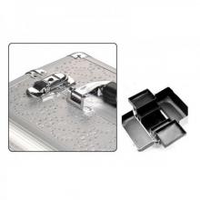 Geanta Cosmetice cu Cristale - Silver